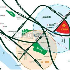 中交宜城春晓区位图