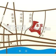 城中金谷位置图