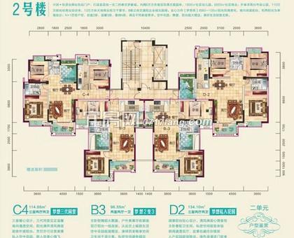 兴润秋语台2号楼二单元