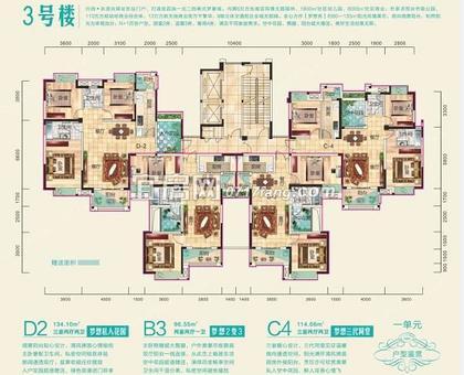 兴润秋语台3号楼一单元