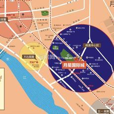 月星国际城区位图