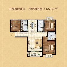 汉川东城一期东城鑫地--三组团D户型