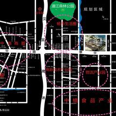 潜江润泰·时代天街区位图