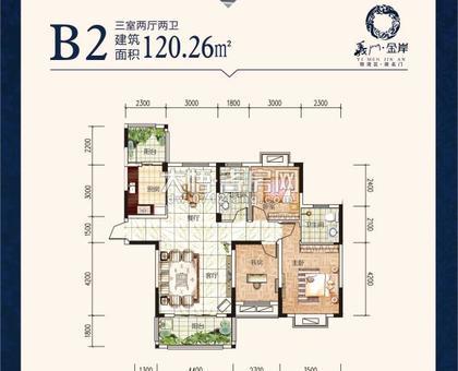义门金岸B2户型