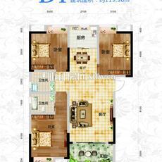 星城国际·沔阳公馆D1户型图