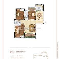 名筑仕嘉3#樓E2戶型戶型圖