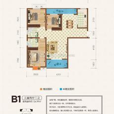 金江星城B1戶型圖
