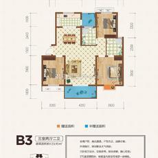 金江星城B3戶型戶型圖