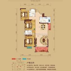 华耀天城--7/8#楼户型