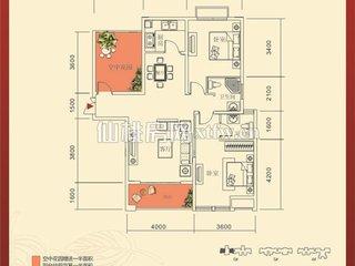 红树湾6#C1户型图