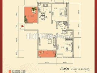 红树湾6#E户型图
