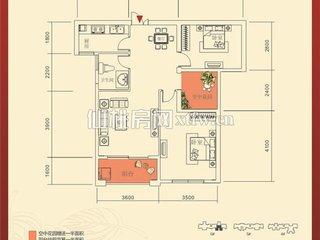 红树湾6#F户型图