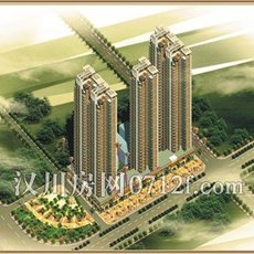 汉北星城一期效果图