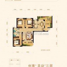 汉川世纪新城E3户型图