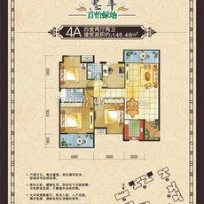 惠丰·首怡绿地4A 户型图