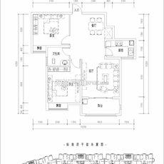 滨湖城市花园5号楼11 户型图