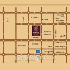 仙桃锦绣江山区位图