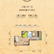 忆美·翰林公馆5、7栋 户型图