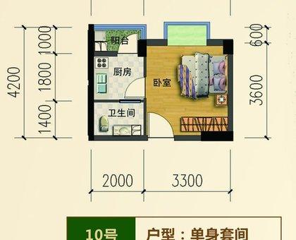 滨江星城10-005户型