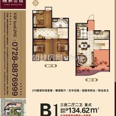 颐和公馆--3# B1户型