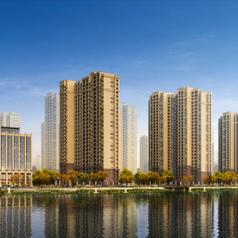 仙桃蓝天新城沿前东河街景透视图.jpg