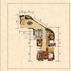 万象国际广场B2户型图