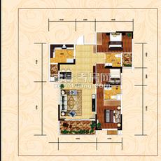 万象国际广场A2户型图