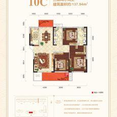锦绣江山10C户型户型图