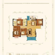 香港城·裕华苑6#B1户型户型图