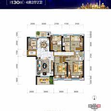 碧桂园·时代城Y297-7A户型图
