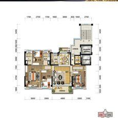碧桂园·时代城YJ140-6A户型图