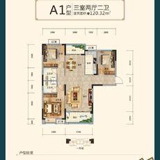沔阳·学府园商铺A1户型图