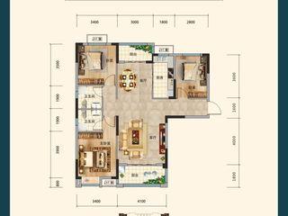 沔陽·學府園A1戶型圖