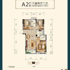 沔阳·学府园商铺A2户型图