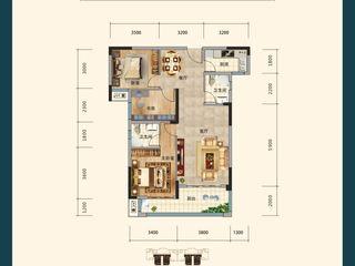 沔陽·學府園A3戶型圖