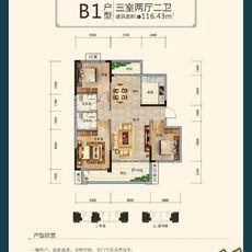 沔阳·学府园商铺B1户型图