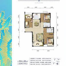 金港印象A3户型图