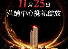 天门·名门营销中心将于11月25日华美绽放!