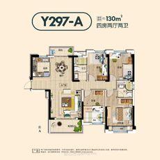 潜江碧桂园Y297A户型户型图