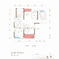 御璟豪园·尚世翰湾二期A1B1户型图