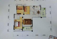 新汉都悦动城 毛坯三室二厅118.47平米 南北通透 有证 68万元急售