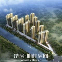 仙桃康湾熙岸鸟瞰图