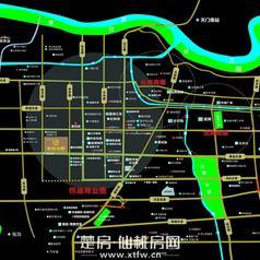 仙桃鸣森·学府名都区位图