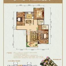 盛世豪庭二期11/12#楼户型户型图