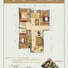 盛世豪庭二期13#楼户型户型图