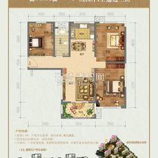 盛世豪庭二期14#楼户型户型图