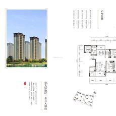 天屿湖D户型图  115㎡ 3房2厅2卫1厨户型图