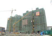 高新时代广场5月进度:住宅正在建外立面