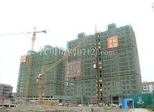 高新時代廣場5月進度:住宅正在建外立面