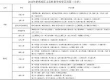 孝感2019学区划分公布 涉及31所中小学!